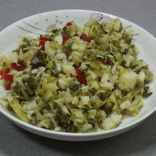 安徽泾县特产农家腌制自制腌菜小白菜酸菜泡菜咸菜开胃下饭菜小菜