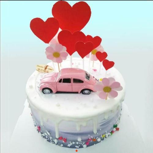 6寸 甜蜜旅行 蛋糕(祁东)
