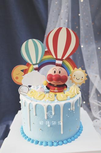 【面包超人】动物奶油蛋糕