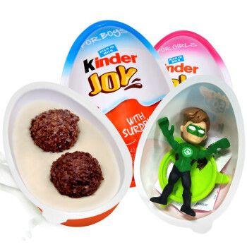 健达奇趣蛋出奇蛋趣趣蛋巧克力零食 男孩版3粒装