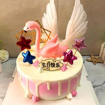 父亲节抖音网红照片生日蛋糕全国同城配送数码蛋糕当日送达上海