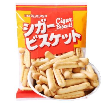 日本进口松永手指饼干北海道多层夹心饼干曲奇酥脆香甜 手指饼干170g
