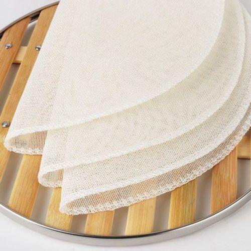 家用纯棉不粘蒸笼布蒸笼纸蒸布笼布馒头垫包子屉布