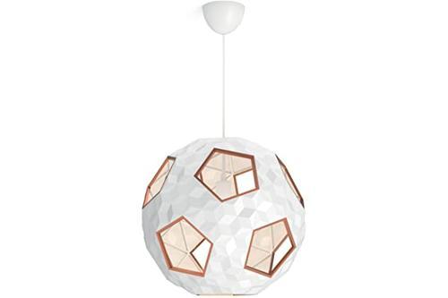 signify myliving tamworth 模块式天花板吊灯,合成,e27,60瓦,白色