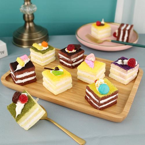 仿真食物模型道具慕斯蛋糕提拉米苏摆件婚庆婚礼橱窗装饰摆设拍摄