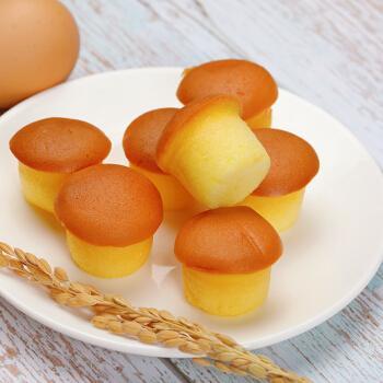 国宇港式鸡蛋仔小小蛋糕原味一口小蛋糕孩子早餐零食
