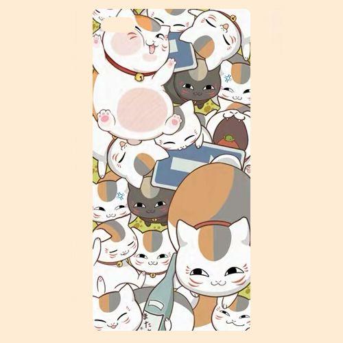 绮丽屋日本动漫周边夏目友人帐猫老师娘高三三苹果保护壳套满包邮