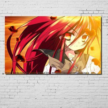 居梦坞 灼眼的夏娜海报周边 钉宫四萌 宿舍装饰画墙贴画海报纸动漫