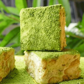 金顺昌桂林特产抹茶味雪花酥网红小吃休闲零食传统糕点牛轧糖 190g