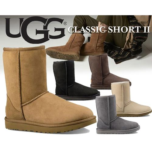 ugg冬季女士靴子平底防泼水防污涂层经典休闲雪地靴
