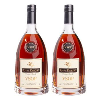戎马大帝 洋酒vsop白兰地 法国原液进口 700ml*2支装