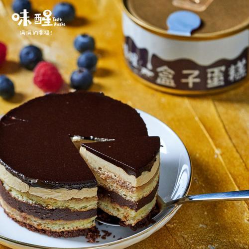 歌剧院慕斯蛋糕x1千层盒子巧克力芝士咖啡奶油杏仁味