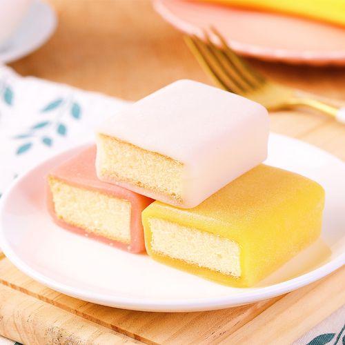 聪师傅冰皮蛋糕网红麻薯糯米糍早餐休闲零食品网红纯蛋糕420g整箱