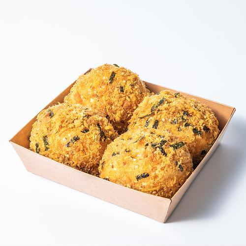 【新品】海苔肉松小贝,2盒共8个,第二件半价,买三赠一