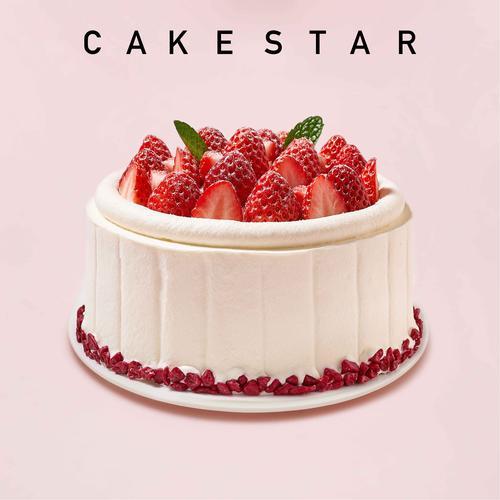 法式草莓季系列蛋糕6号
