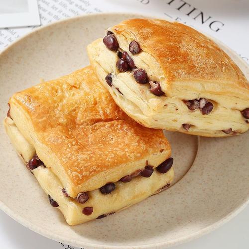 无蔗糖红豆面包千层酥营养早餐整箱夜宵充饥小吃糕点