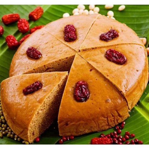 红糖发糕农家手工福糕酒店宴席红枣发糕状元糕糯米糕点早餐糕点心