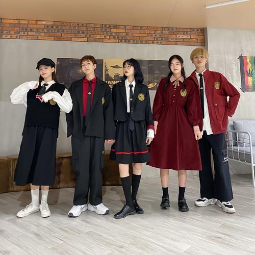 贵族学校高中生校服英伦jk西服学院风套装秋季学生