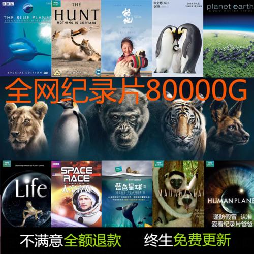 bbc纪录片视频合集 美剧蓝光中英文字幕