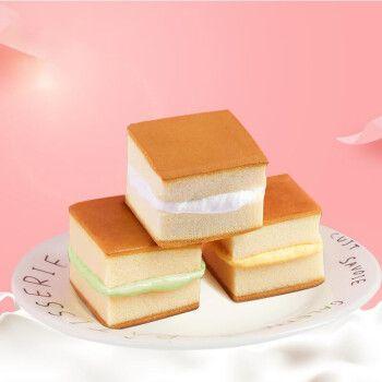 牛奶味小面包营养早餐点心小吃休闲零食品批发1 香蕉牛奶味蛋糕400g