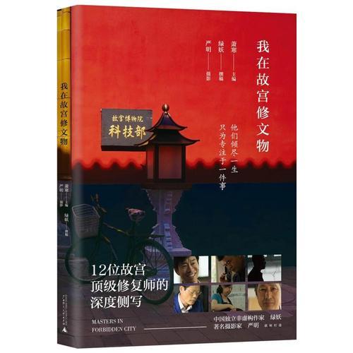 豆瓣高分纪录片电影纪录片同名书周边12位故宫文物师讲述 书籍书排行