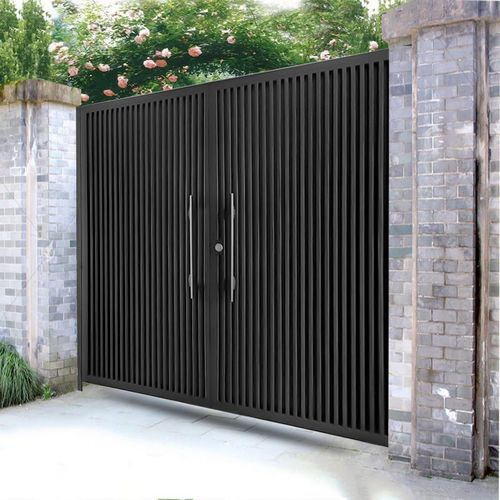 铁艺别墅大门庭院门进入户门小区院子大小门单开门花园门日式