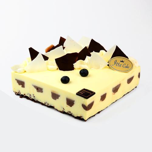 【牛乳芝士慕斯】经典法式口味重工酸奶生日蛋糕