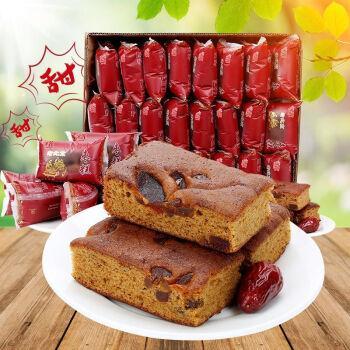 馋莲老枣糕面包营养早餐红枣泥糕点蛋糕整箱点心休闲零食小吃
