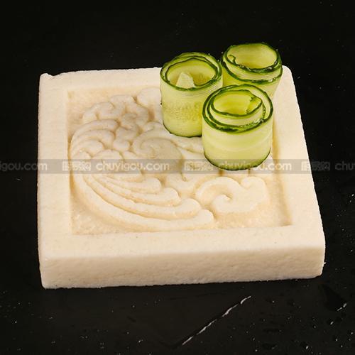 创意盘模  【方形盘模】可以制作盐焗盘,鱼冻,巧克力盘,冰砖盘,即时