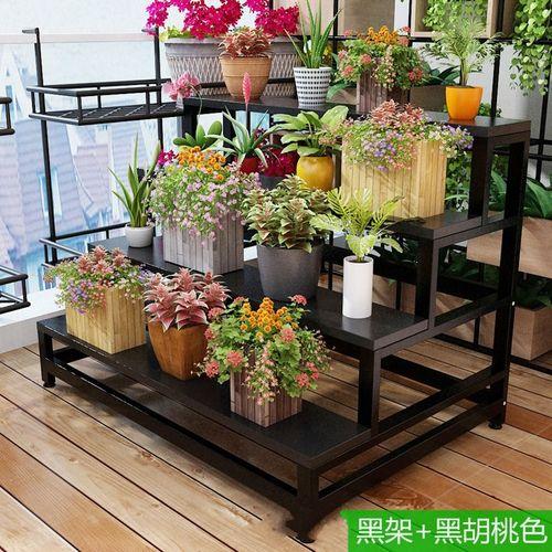 花架子花架木功能展台式架室内落地爬藤钢多层室内钢铁阳台庭院