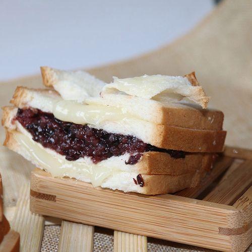 20袋 紫米面包紫米奶酪面包四层新鲜糯米面包早餐新鲜