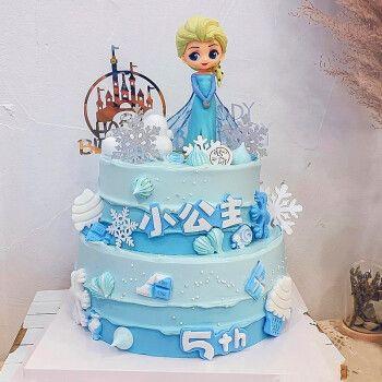 可爱蛋糕a款(单尺寸为单层) 10英寸(适合5-7人食用)