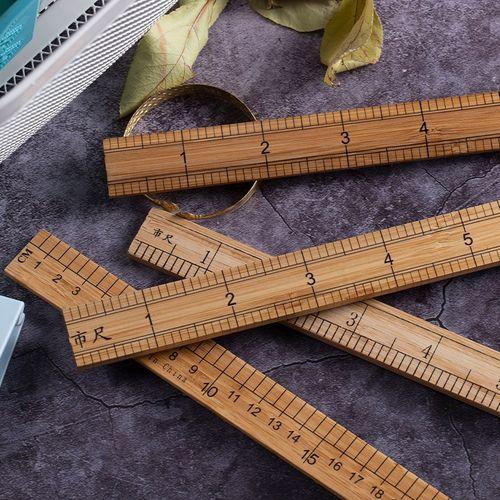 尺子量衣尺裁缝工具木尺子1米裁布尺子一米裁缝尺子木头100cm.