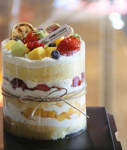 小5寸水果蛋糕