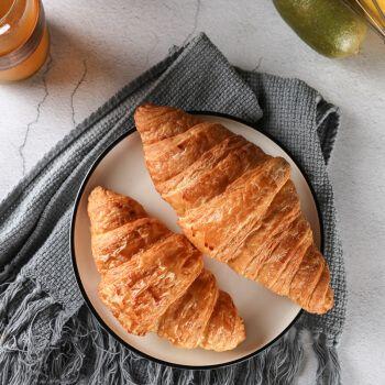 可颂牛角包 60g/90g 可颂牛角面包半成品早餐面包汉堡