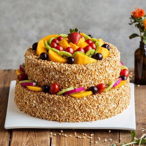 【阳光城堡】生日蛋糕-6磅(长沙)