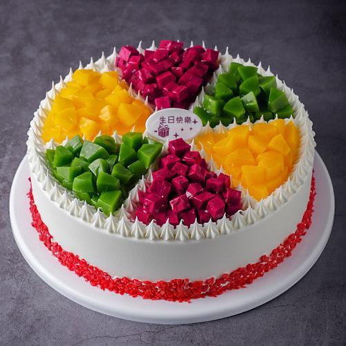 欧式水果蛋糕模型仿真2020新款网红生日假蛋糕塑胶橱窗样品t232