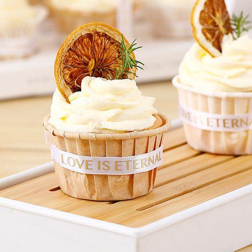 纸杯蛋糕纸杯卷口杯子耐烤耐高温家用小蛋糕马芬杯模具卷边礼貌杯