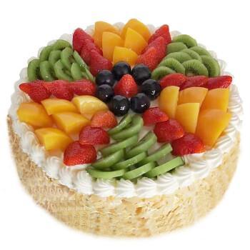 中帝(zhong di) 生日蛋糕 水果蛋糕同城配送 定制全国
