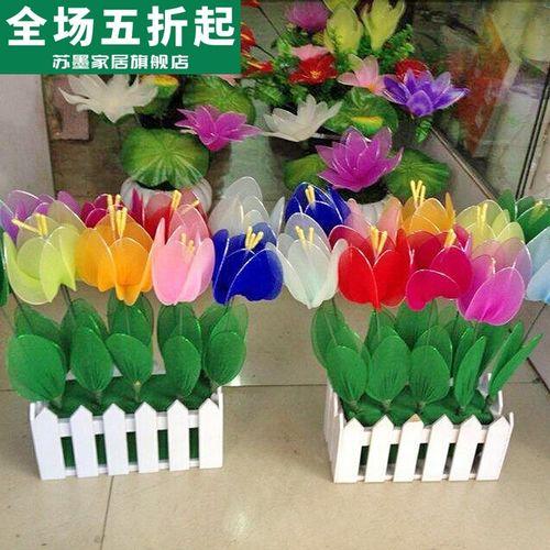 丝网花材料 仿真花百合花材料包套餐 丝袜花diy手工花
