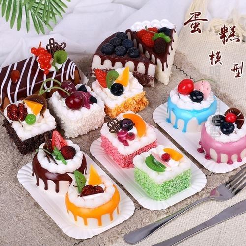 店铺烘焙面包模型房装饰物蛋糕橱窗展示ins创意新品