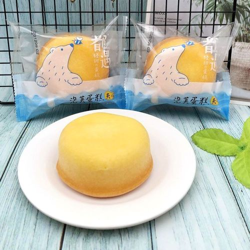 泡芙蛋糕整箱4斤奶油爆浆夹心蛋糕营养早餐蛋糕点小零食 1斤