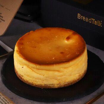 面包新语(breadtalk)甜品 巴斯克芝士蛋糕礼盒5英寸 聚会 下午茶