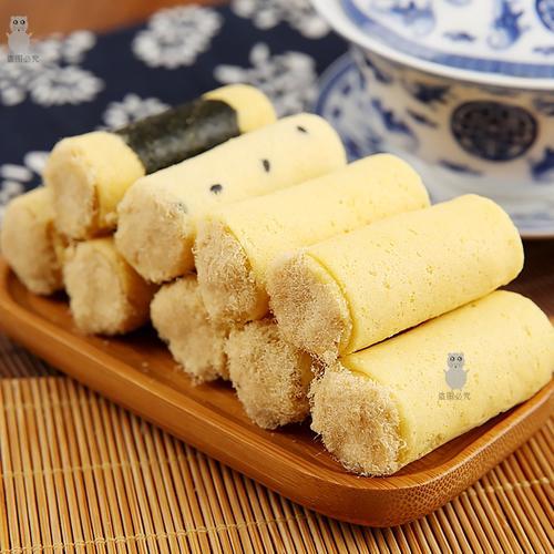 鸡蛋卷广东广州深圳珠海澳门特产美食紫菜海苔肉松