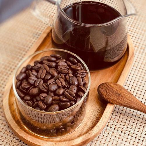 无碍 低因脱因 无酸香浓 意式摩卡壶手冲 新鲜深度烘焙咖啡豆粉