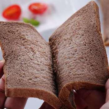 年货【饱腹代餐】黑麦面包片切片早餐吐司健身粗粮吐司代餐面包一整箱