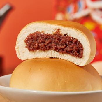 秋香早餐红豆小面包整箱豆沙馅蛋糕小面包手撕夹心面包吐司小包装