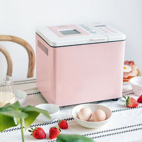 柏翠( petrus)面包机 早餐机 和面机 家用 全自动双管