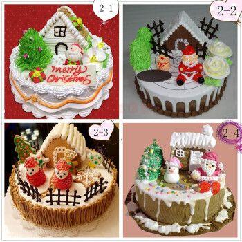 网红圣诞节生日蛋糕同城平安夜创意新年雪人圣诞老人蛋糕全国上海