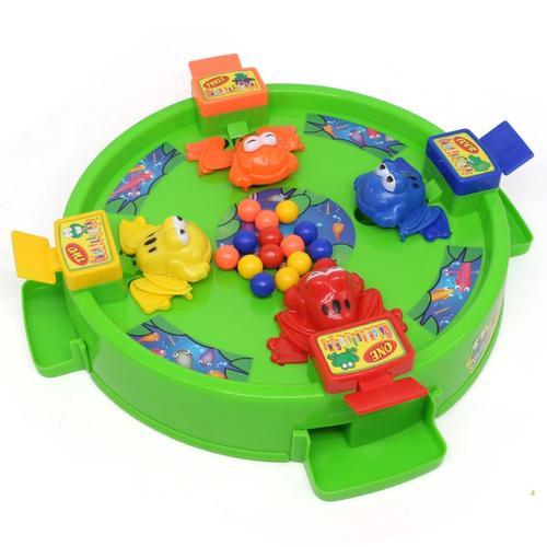 新款抖音同款疯狂青蛙吃豆豆子玩具桌面吃珠贪吃儿童男孩趣味吃球
